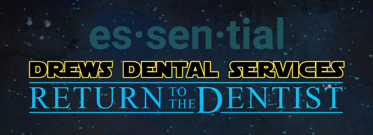 "Dentistry: Why It's An ""Essential"" Service"